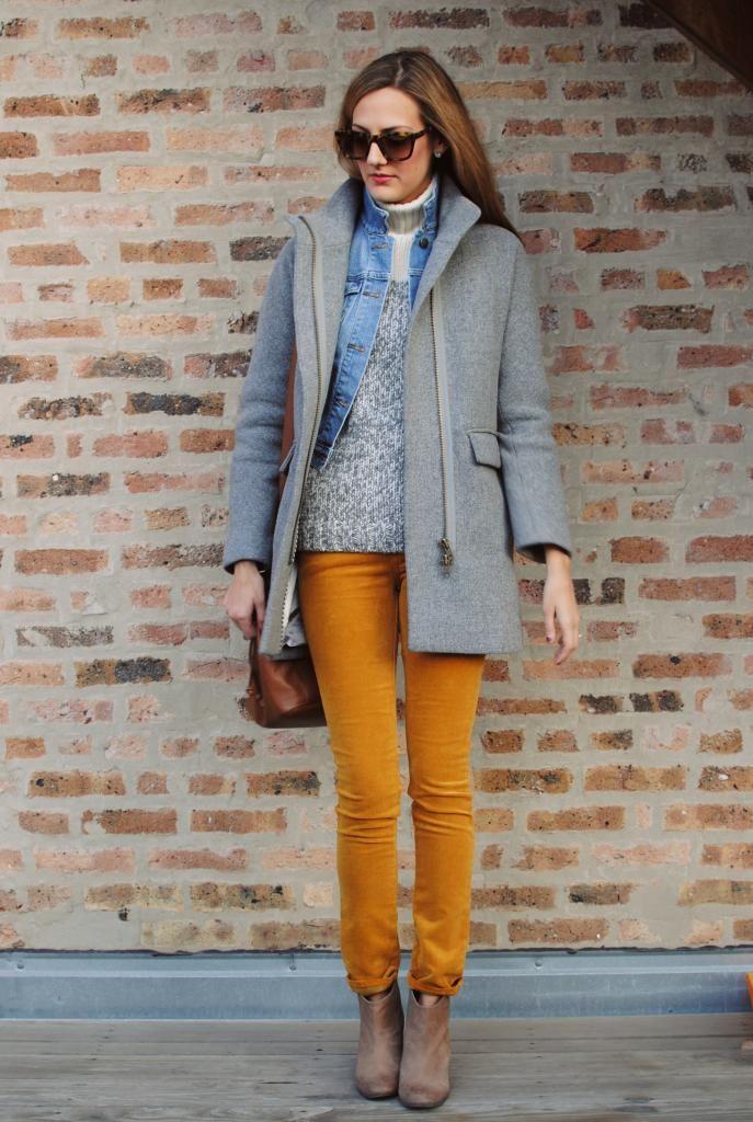 jeans + mostarda