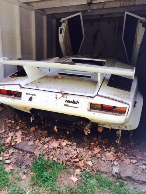 Abandoned Countach Seriously Rust In Peace Abandoned Cars