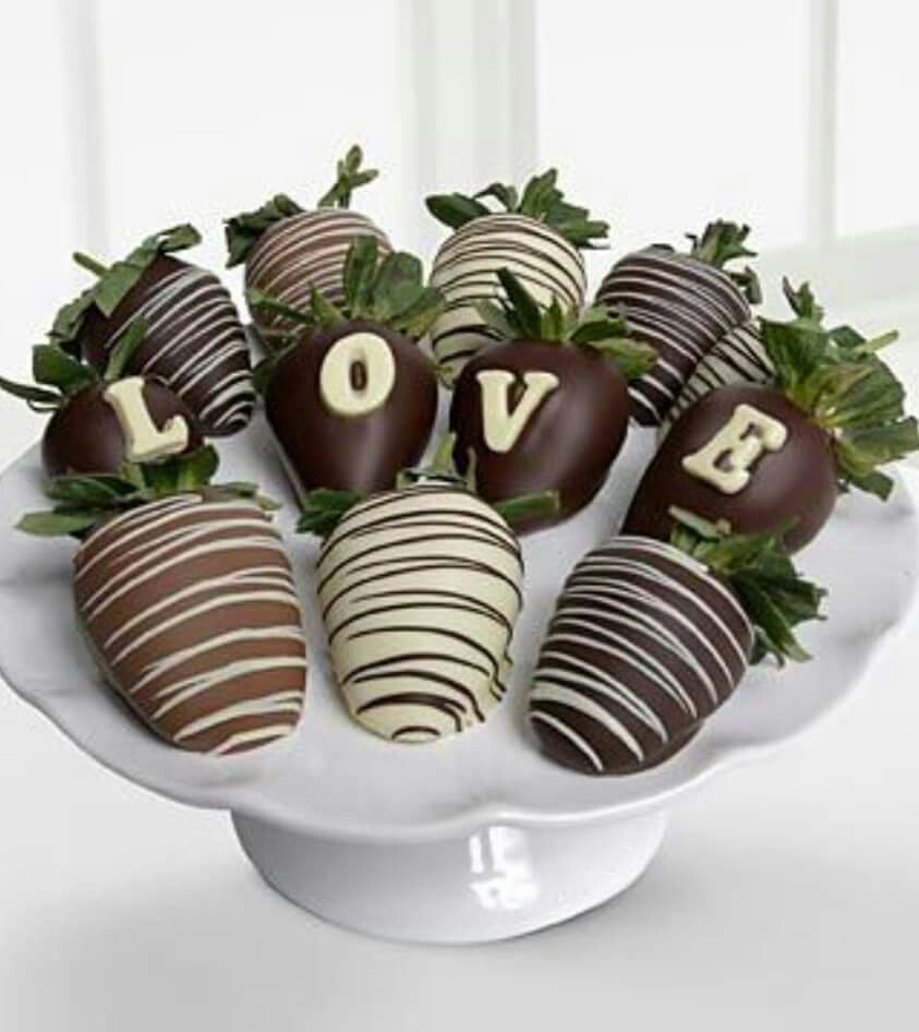 Fresas cubiertas de chocolate | Chocolate Strawberries | Pinterest ...