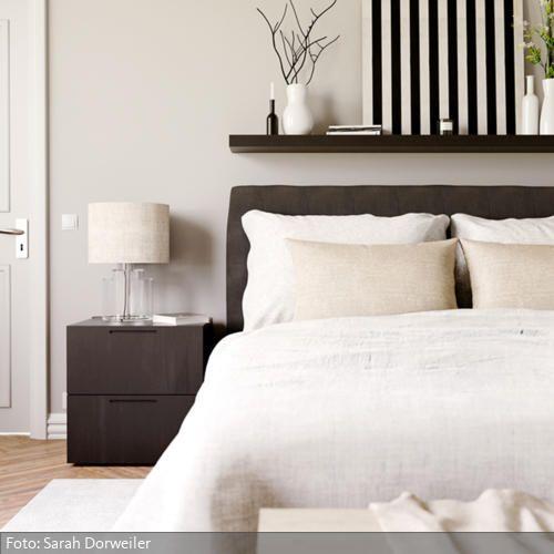 Schlafzimmer Durchsichtig, Dunkel und Bett - klassische bett designs schlafzimmer