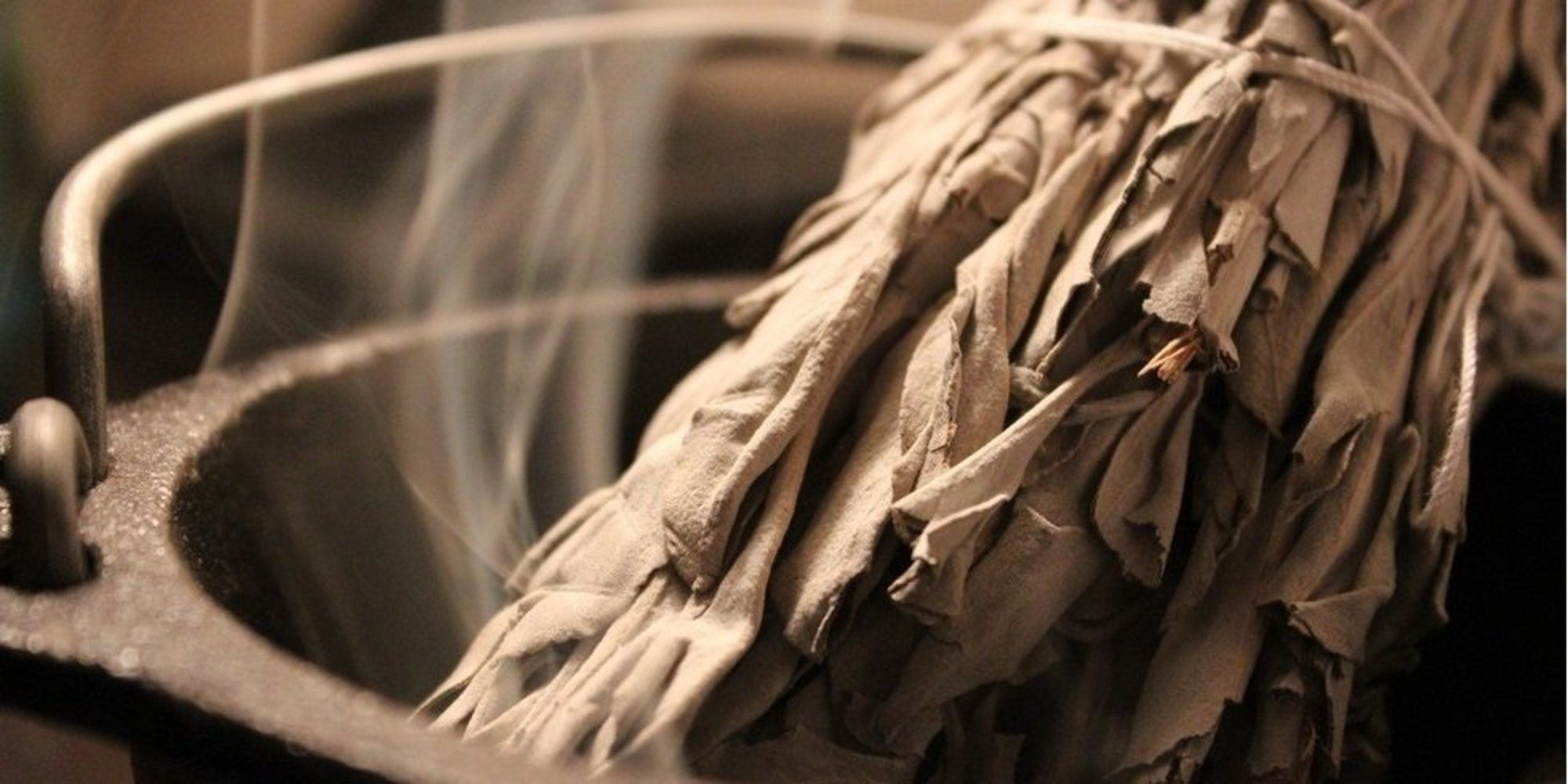 """Smudging does a lot more than """"clear evil spirits"""" new"""