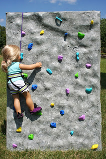 Arts and Crafts for your American Girl Doll: Rock Climbing for American Girl Doll - over view #americangirldollcrafts