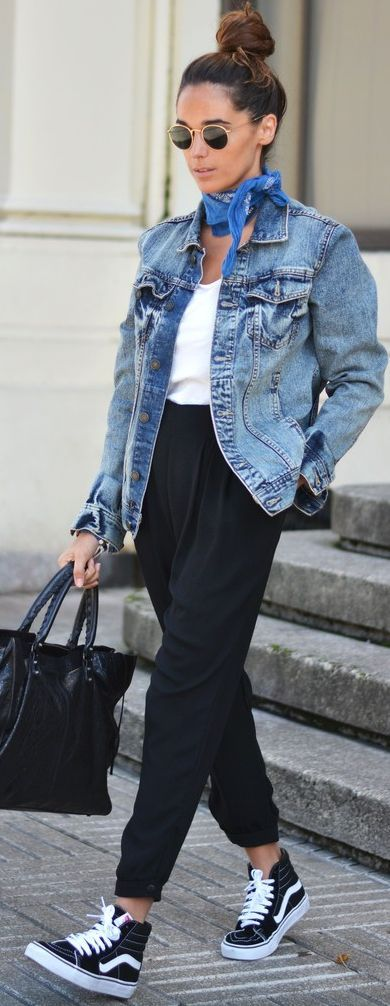 Baggy And Vans Fall Streetsyle Inspo by Stellawantstodie