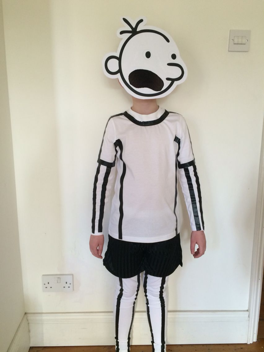 World Book Day - Diary of a Wimpy Kid home made costume ...