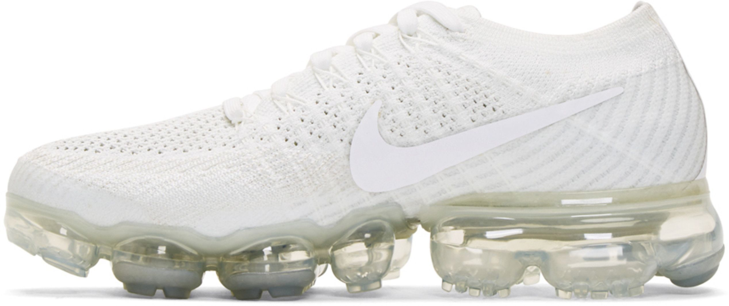 17ac5c8d68dd3 Nike - White Air VaporMax Flyknit Sneakers