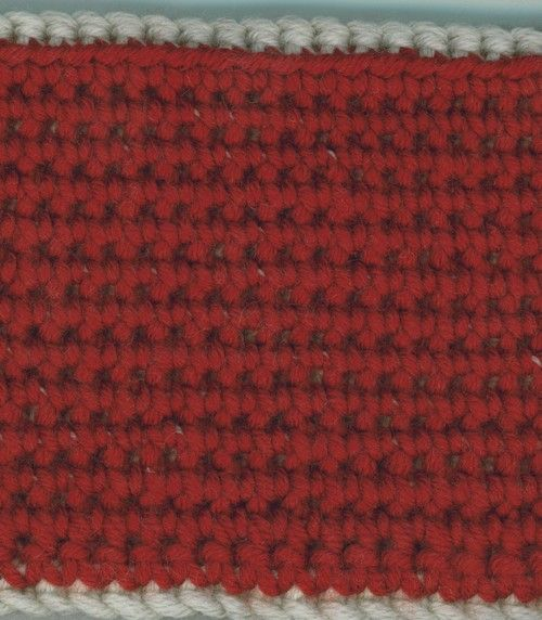 crochet maille serree