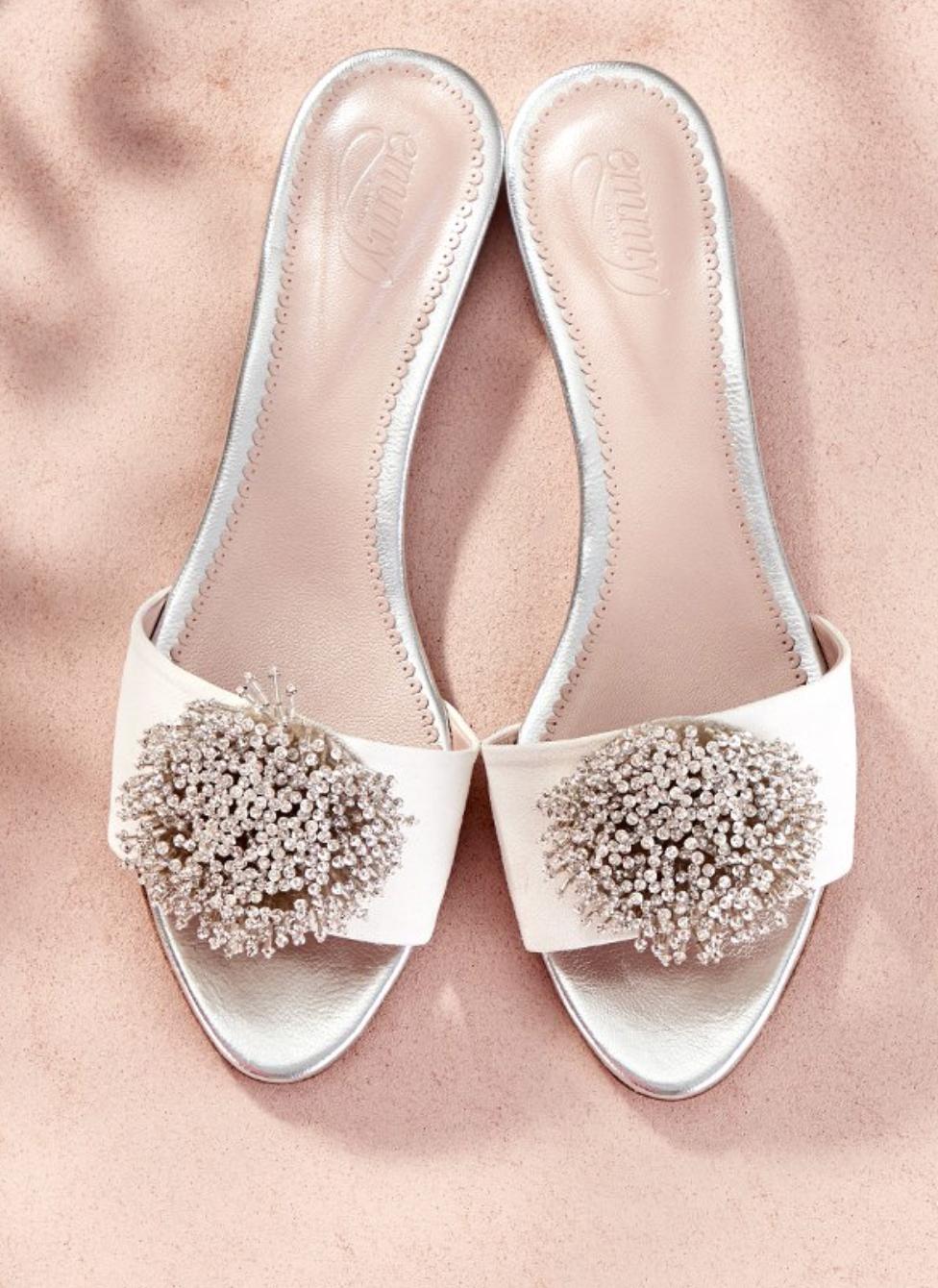 flat wedding shoes   Bridal shoes