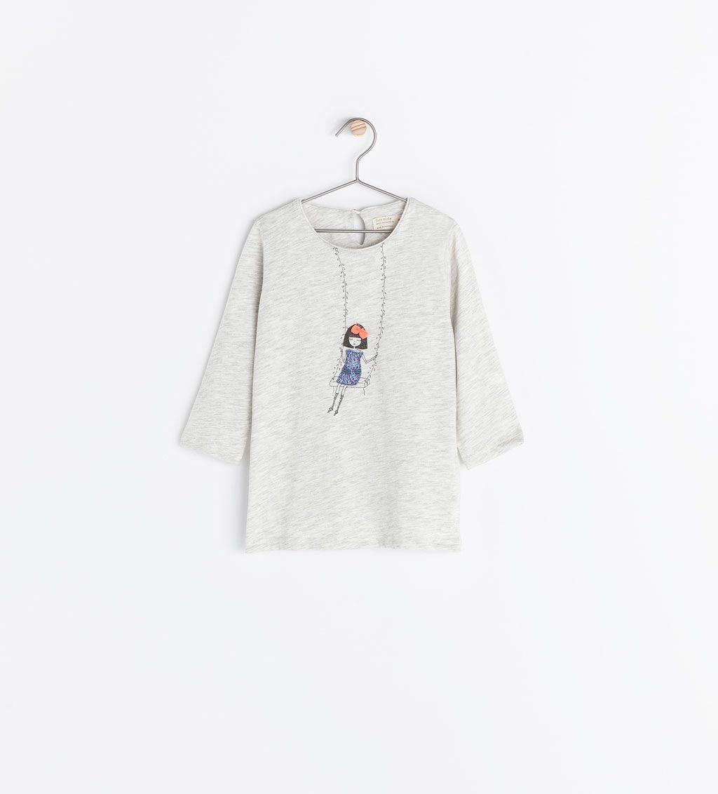 a6f180d720 Image 1 of DOLLS PRINT T-SHIRT from Zara | Way too graphic | Zara ...