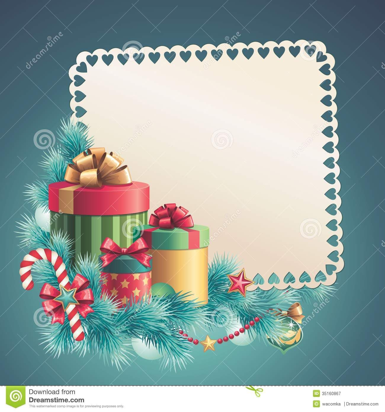 Christmas Card Template  Google   Printables