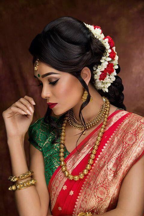 Facebook Asian Bridal Makeup South Indian Wedding Hairstyles Indian Bridal Makeup