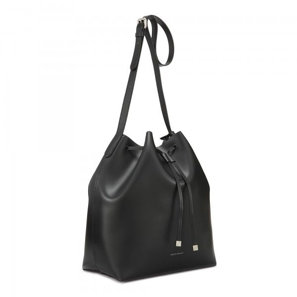 coccinelle bucket bag in smooth two colour leather coccinelle bags coccinelle bags. Black Bedroom Furniture Sets. Home Design Ideas