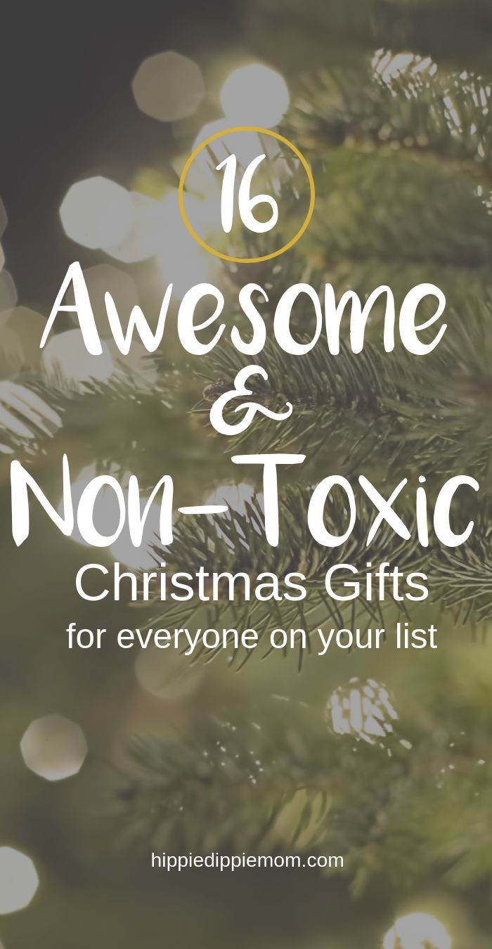 Non-toxic Christmas gifts for everyone on your list! — HippieDippieMom   Christmas gifts ...