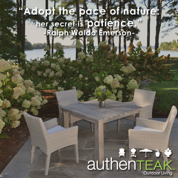 At AuthenTEAK, high-quality outdoor furniture, along with outstanding  customer service is our - At AuthenTEAK, High-quality Outdoor Furniture, Along With