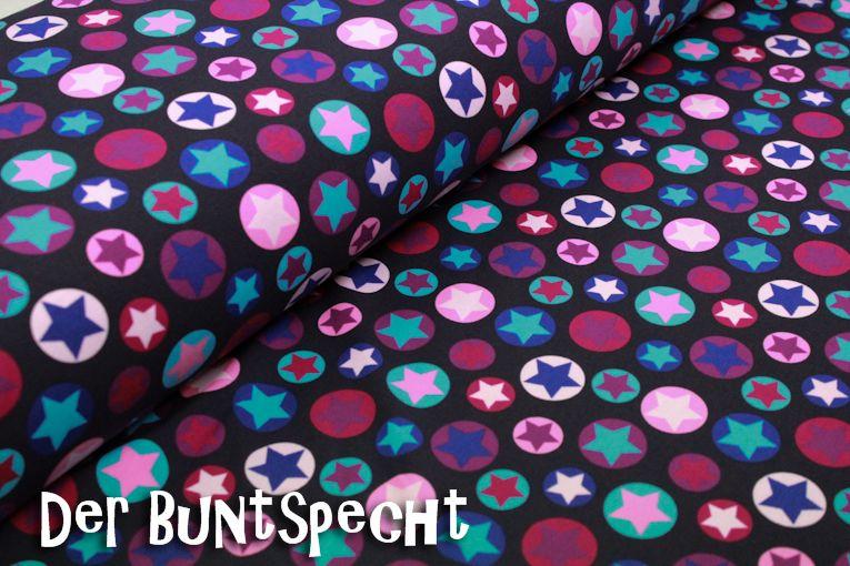 jersey stoff circle star von derbuntspecht auf stoffe pinterest stoffe. Black Bedroom Furniture Sets. Home Design Ideas