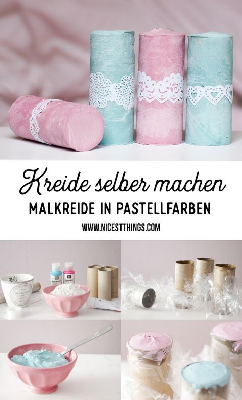 Photo of Kreide selber machen: DIY Malkreide / Straßenkreide – Nicest Things