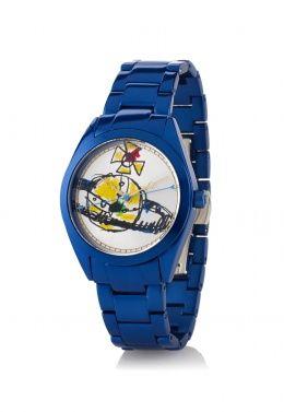 Blue St Paul's Watch - Vivienne Westwood