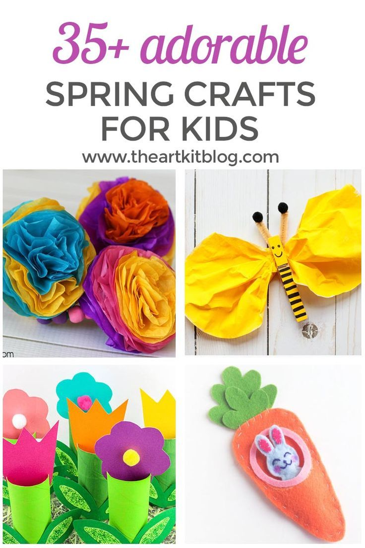 35 Adorable Spring Crafts For Kids Child Activities And