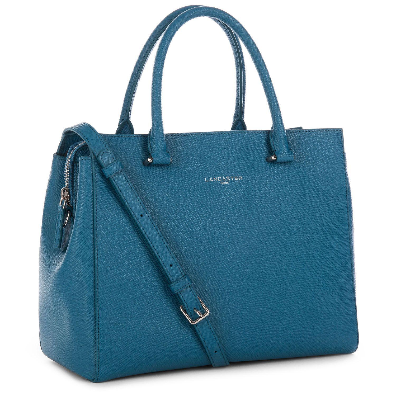 Peacock Blue handbag, Adèle, Lancaster Paris. #blue #green ...