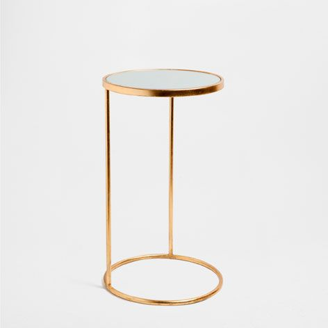 Small Round High Table Occasional Furniture Home Collection Zara United