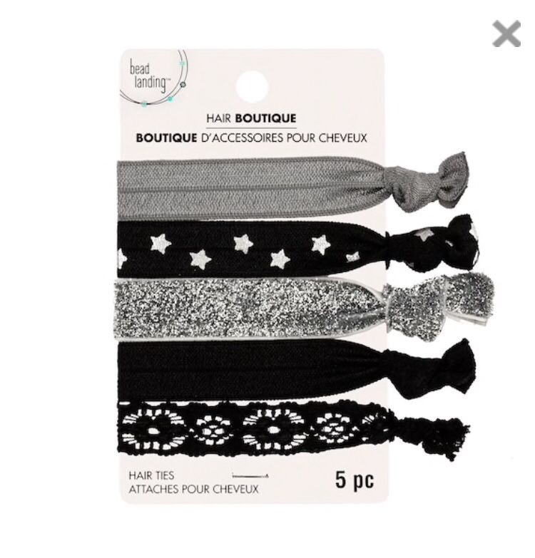 Hair Boutique Mixed Patterns Hair Ties By Bead Landing™ in 2018 ... afa8c458595