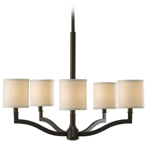 Feiss Lighting Modern Chandelier With Drum Shades F2519 5orb Destination Lighting Modern Chandelier Modern Ceiling Lamps Modern Hanging Lights