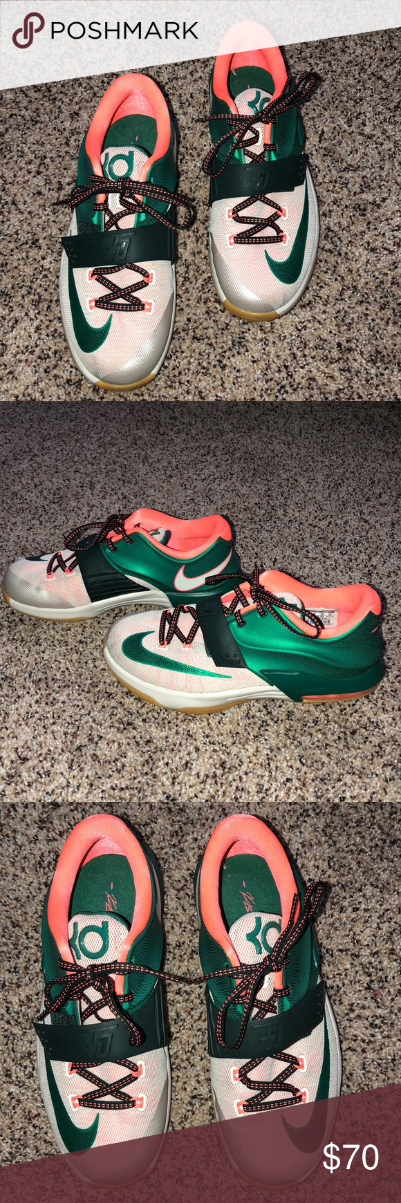 09bc9bb6bcfd Nike Kevin Durant Nike Kevin Durant shoes 5.5y which is a 7 in women s Very  good condition Only worn a couple of times Can send more pictures if wanted  Nike ...