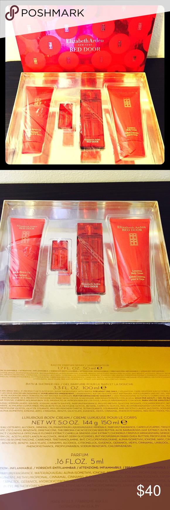 Elizabeth Arden Red Door Perfume Set Nwt My Posh Picks
