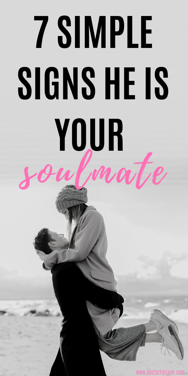 Were you meant to be together? Is he your soulmate? Could he be your perfect match? These 7 small and little-known signs he is your soulmate and perfect match will help you find out if you've found The One Man for you. Signs he is The One/ Signs he is your soulmate/ Signs he is your perfect match/ Signs you are meant to be together/ True love signs/ Relationship goals/ Relationship advice/ #RelationshipTips #RelationshipAdvice/ #SoulmateSigns #PerfectMan