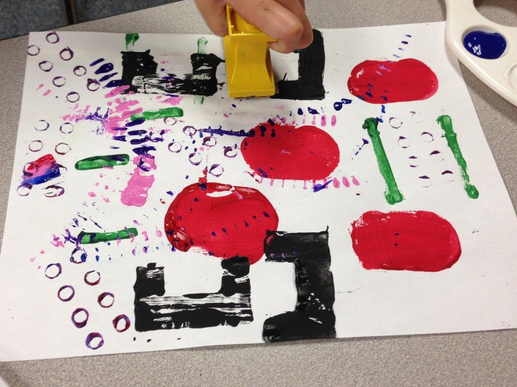 Lego Painting Fun And Creative Way To Paint