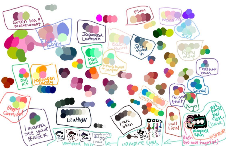 Colour Swatches by Choc-Flavoured-Near.deviantart.com on @DeviantArt