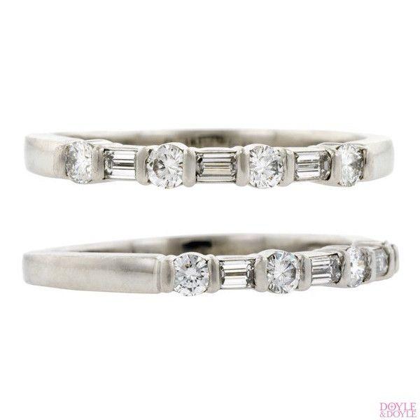 52d79c02c0c01 Tiffany & Co Diamond Wedding Band in 2019   rings   Diamond wedding ...