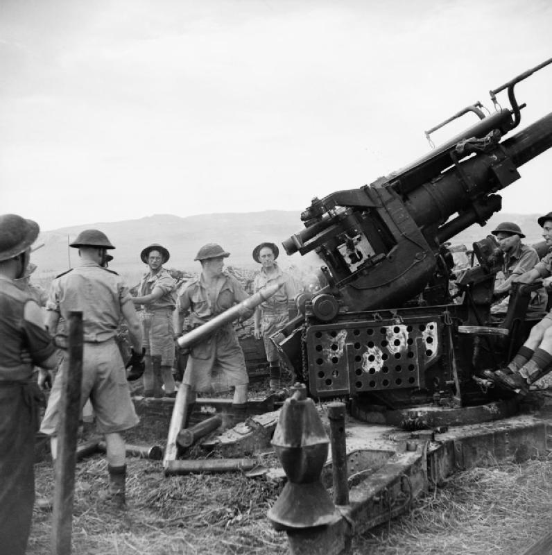 World War Two anti-aircraft gun K980562 (Print #1437979)