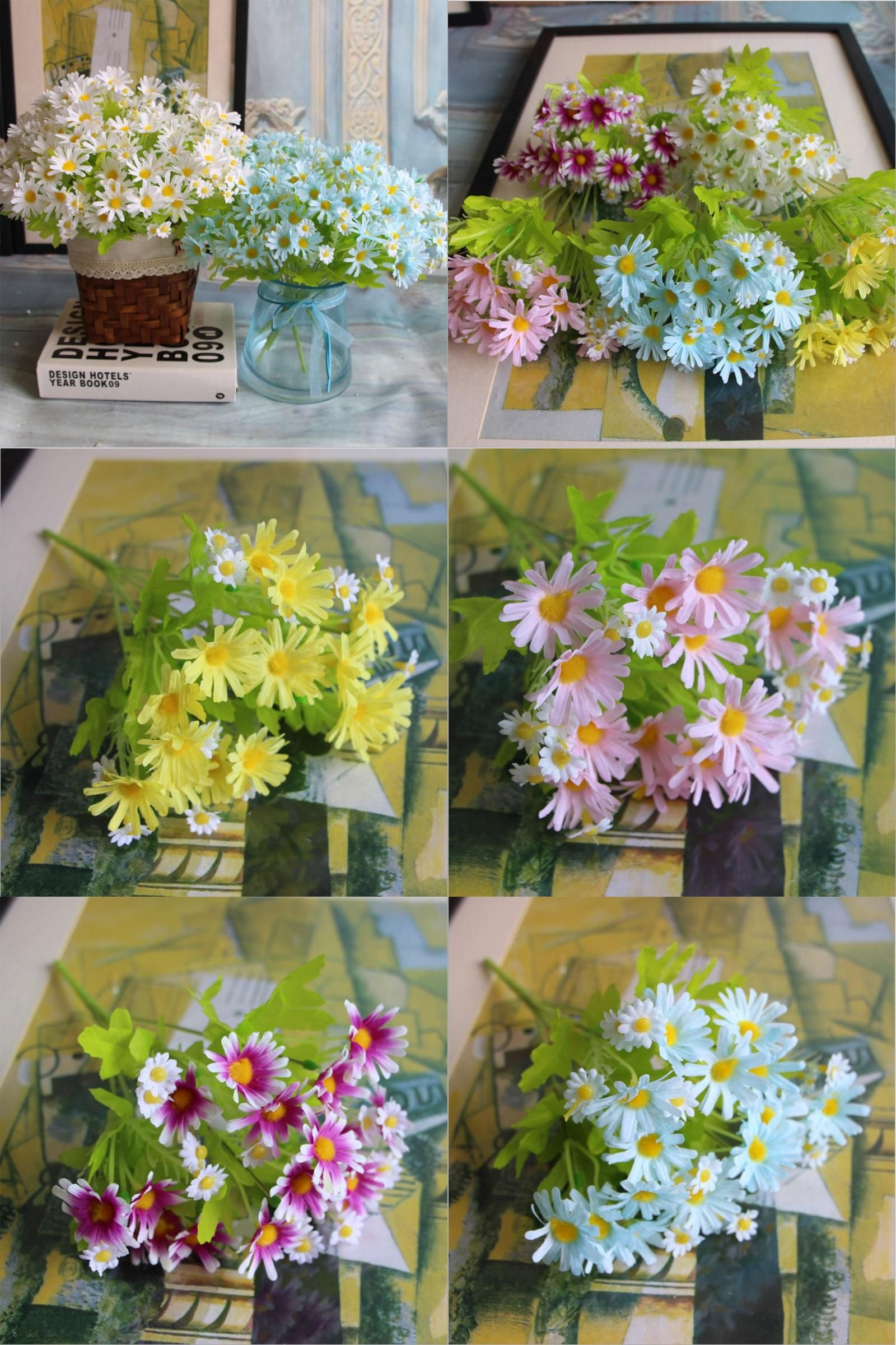 Where to buy cheap artificial flowers choice image flower wallpaper hd visit to buy mini 33 heads daisy flower bouquet european rose visit to buy mini 33 izmirmasajfo Choice Image