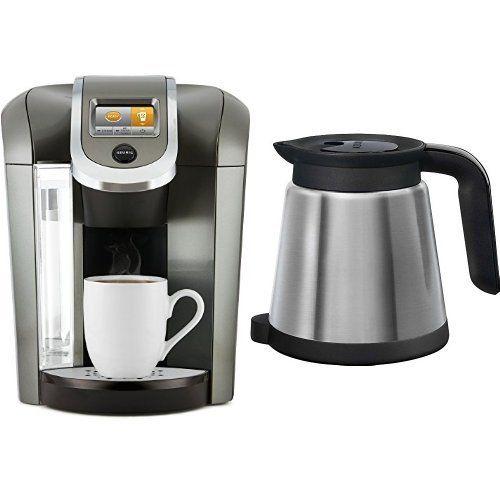 Keurig K575 Coffee Maker, Platinum And Keurig 119352 2.0