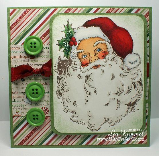 Jolly Santa  http://ink-positive.blogspot.com/