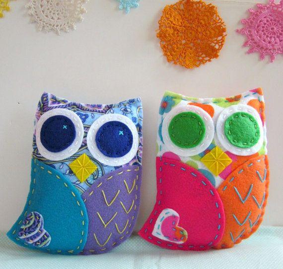 Owl Pdf Pattern By Lovahandmade On Etsy Sewing Pinterest Owl