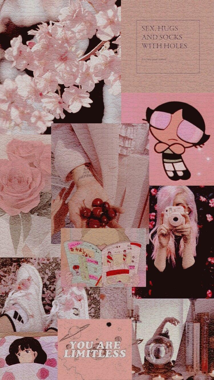 Pin By C00l Girl On Editor Aesthetic Iphone Wallpaper Pink Poster Bunga Poster Abstrak Kertas Dinding
