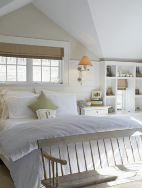 Some more lovely white rooms