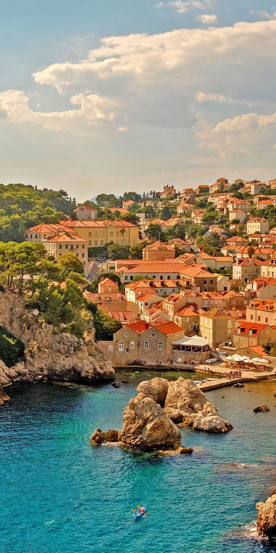 Dubrovnik Croatia The City Commands Your Attention With The Perfectly Preserved Rector S Palace Elaborate Ono Places To Travel Croatia Travel Croatia Beach