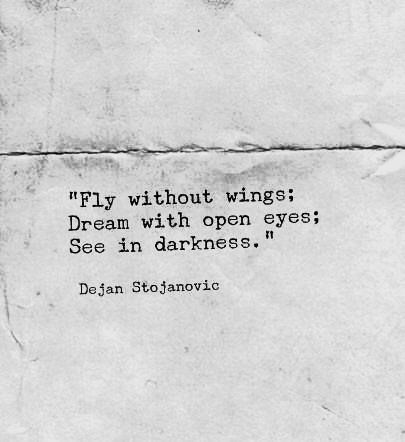 Dream with open eyes #quote