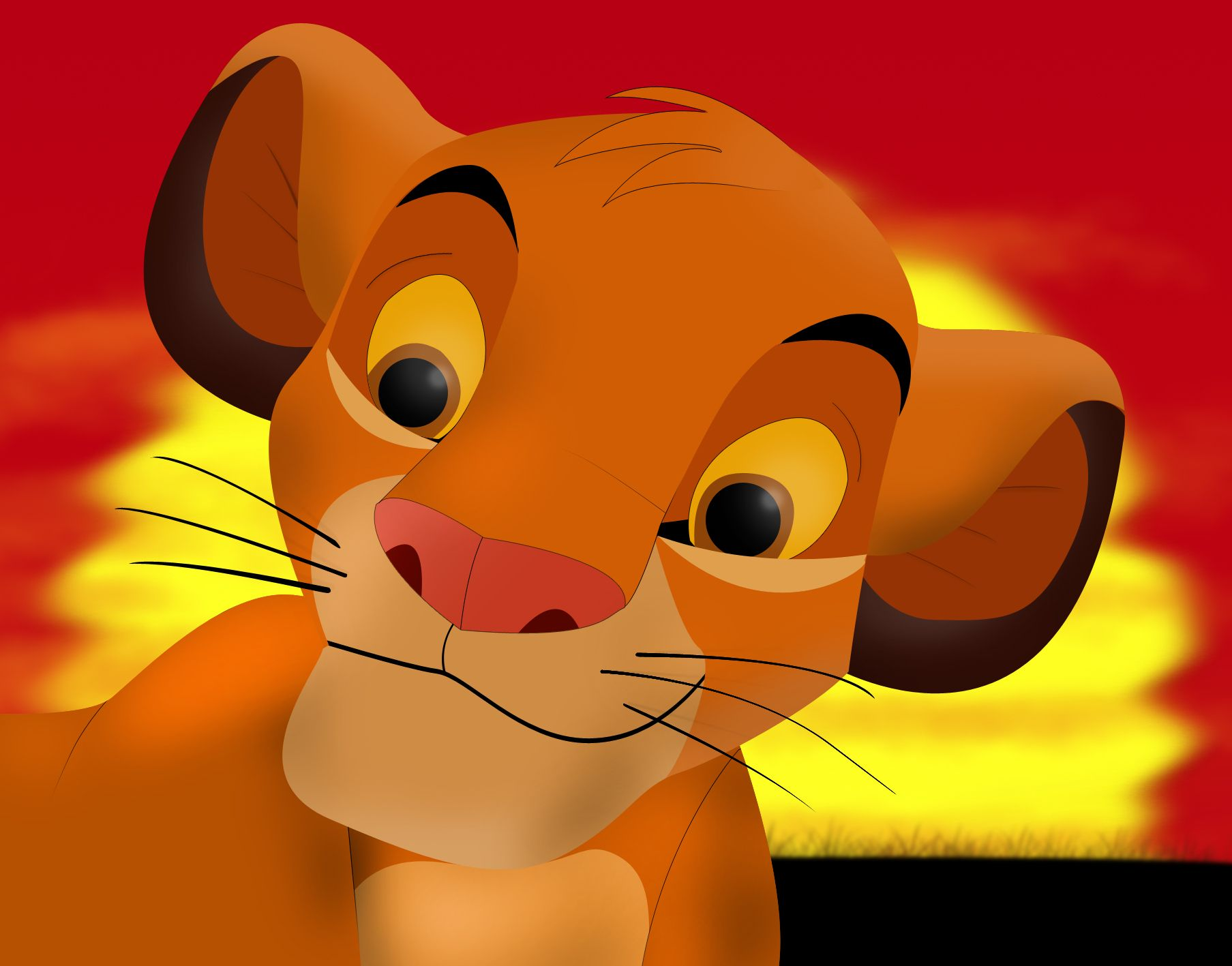 The Lion King A True Disney Classic And My Very First Movie Ever Fotos Del Rey Leon Cumpleanos Rey Leon Rey Leon