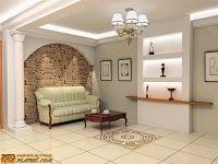 Décoration intérieur de couloir | platre | Pinterest