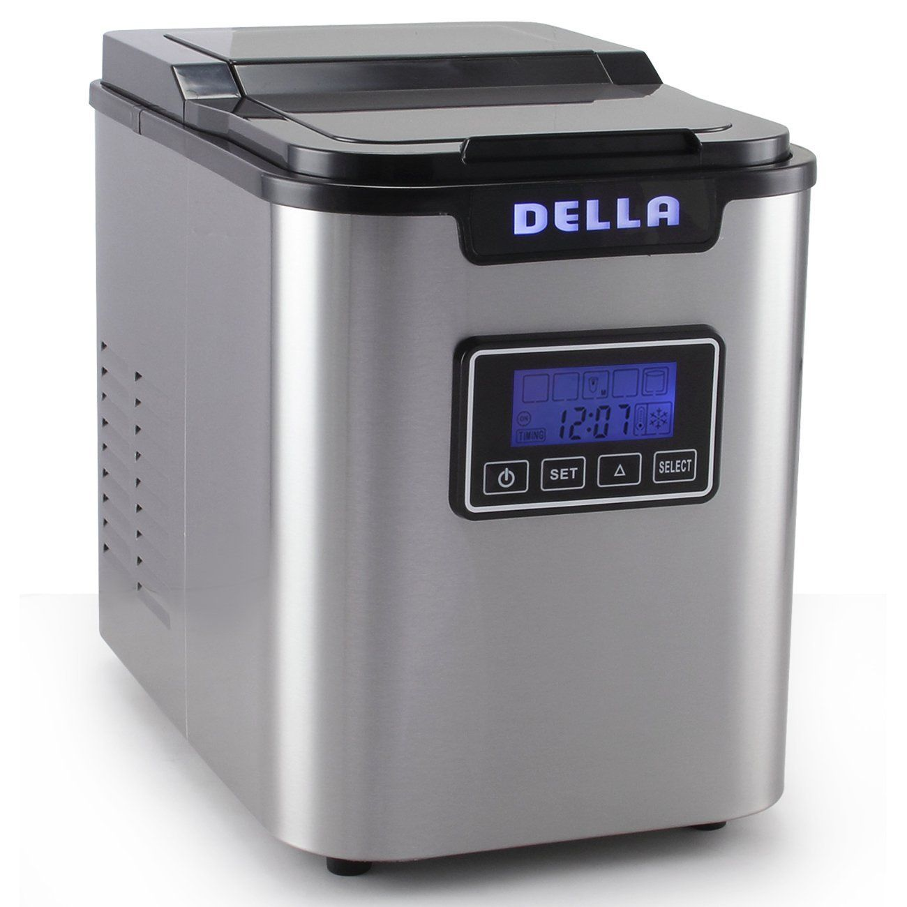 Della 048 Gm 48227 Electric Ice Maker Machine Express 26lbs Day