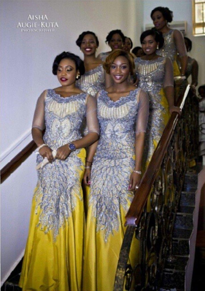 demoiselles d 39 honneur mariage africain african wedding. Black Bedroom Furniture Sets. Home Design Ideas