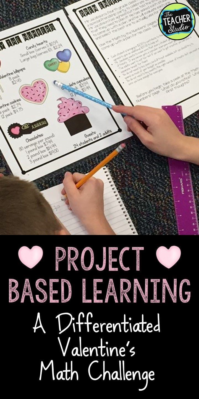 Project Based Learning Math Problem Solving: Valentine Celebration ...