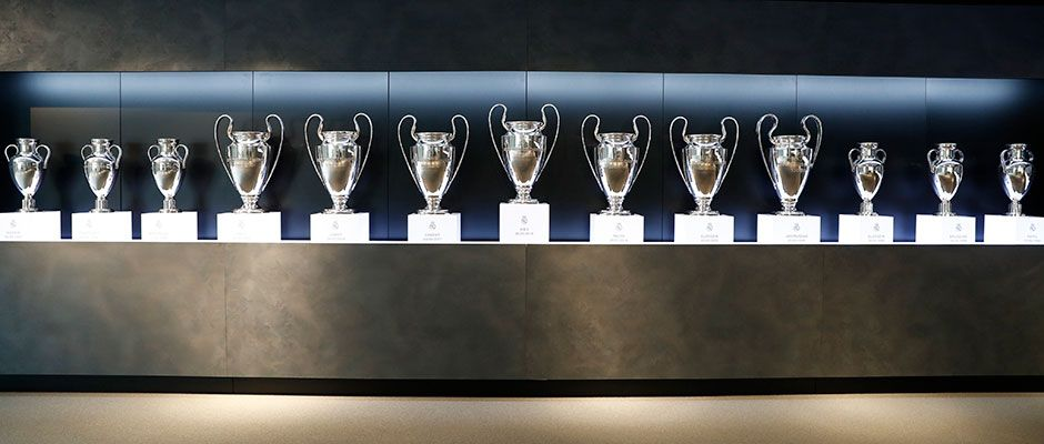 Los Vídeos Conmemorativos De Las 13 Copas De Europa Real Madrid Cf Real Madrid Copa De Europa Gol De Ramos