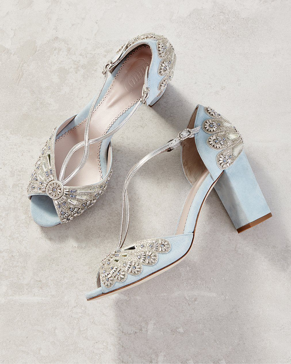 Bluebell Block in 2020 Blue bridal shoes, Bridal shoes