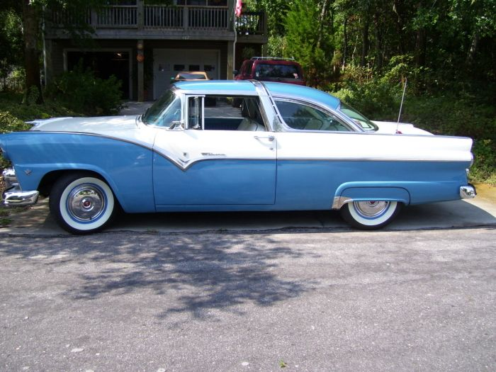 1955 Ford Crown Victoria 55 Was A Good Year For And Chevrolet