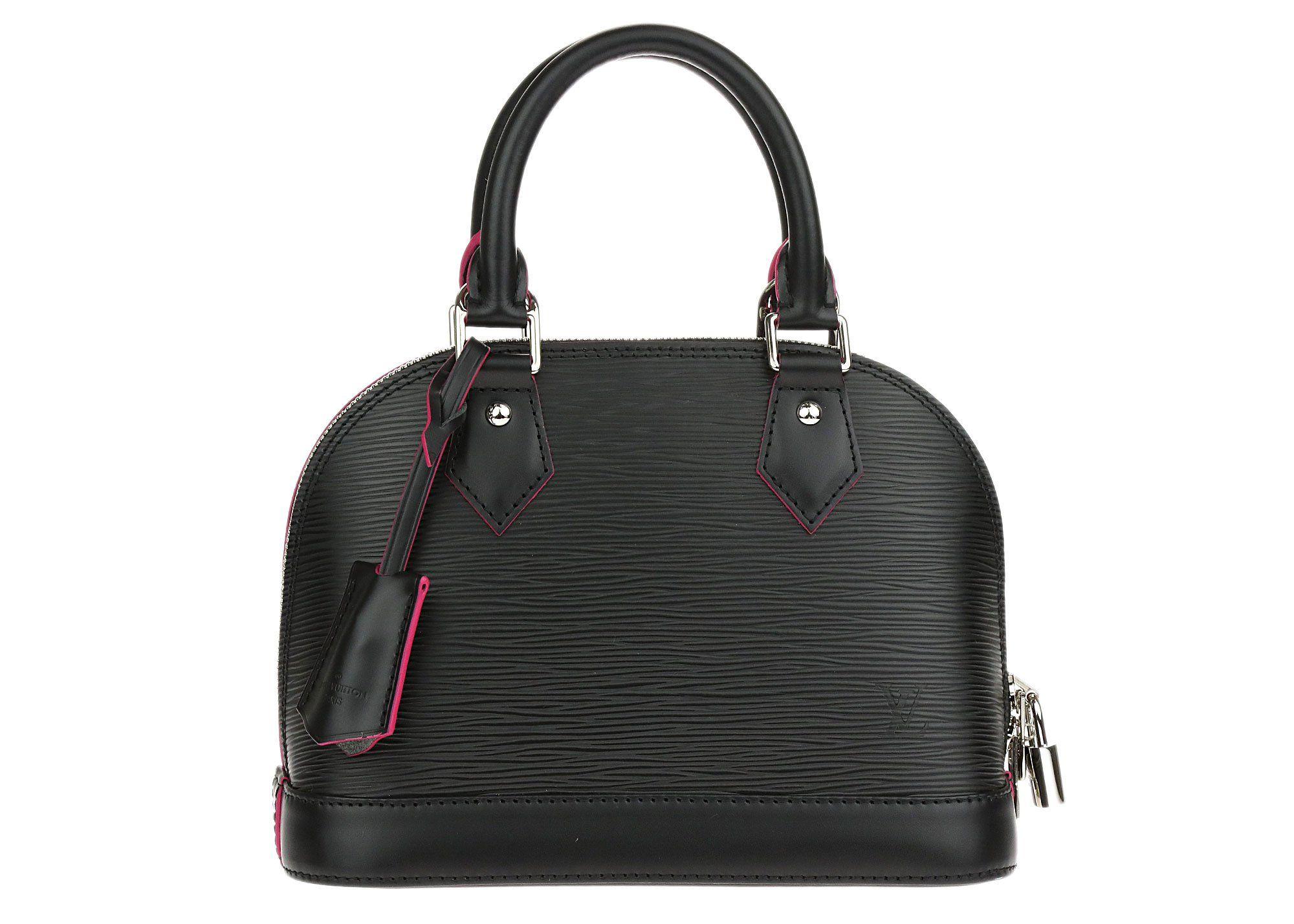 Louis vuitton black alma bb epi louis vuitton handbags