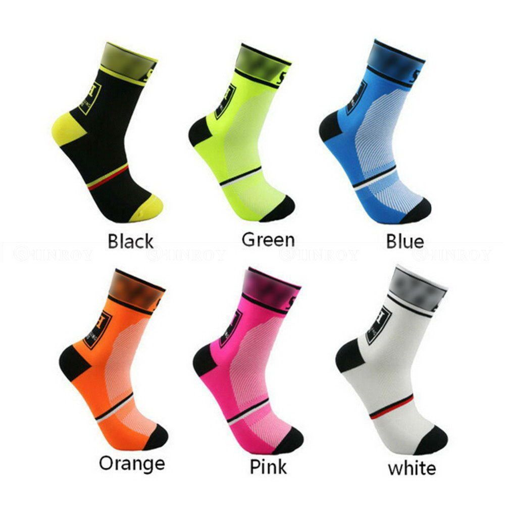 3cf0da6f9 1 Pair Men Women Riding Cycling Sports Socks Unseix Breathable Bicycle  Footweary
